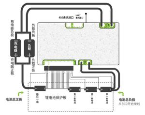 Image 5 - 16S 50A 40A 30A Li ion BMS protection board smart bms Balance Bluetooth app UART bms software (APP) monitor Lipo lithium