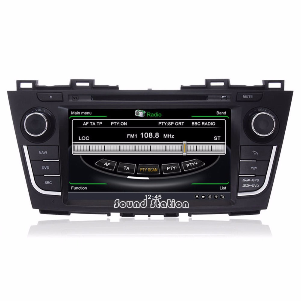 Autocardvdgps for mazda 5 premacy auto car dvd gps navigation audio radio