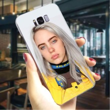 купить Billie Eilish Hard Cover for Samsung Galaxy A8 Plus 2018 Protective Phone Case for Samsung Galaxy A5 A6 Plus A7 A8 Plus A9 дешево