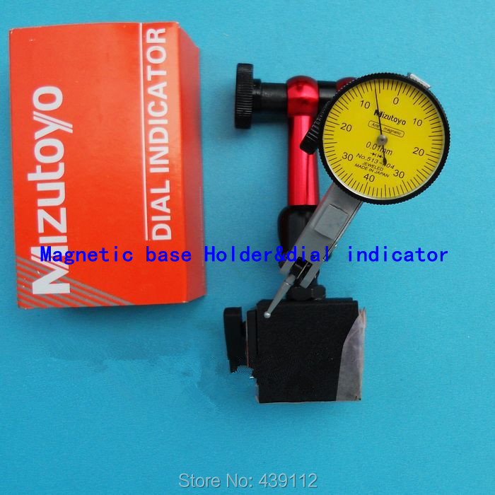 Mini Universal Flexible Magnetic Base Holder Stand & Dial Test Indicator Tool mini flexible magnetic base holder stand dial test indicator tool