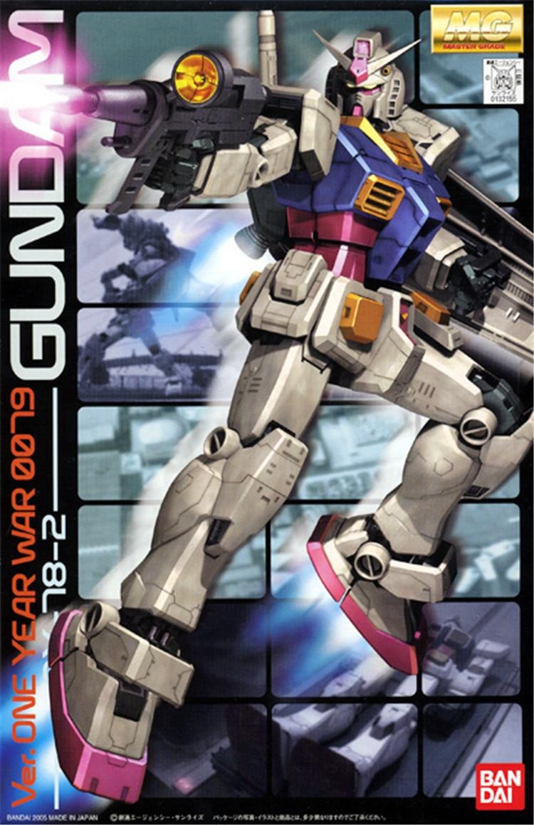 Bandai 1 100 MG RX 78 2 Gundam VER ONE YEAR WAR 0079 Mobile Suit Assemble