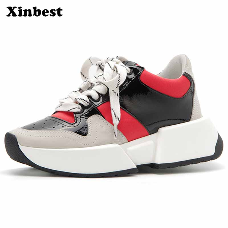 Xinbest Woman Brand Outdoor Athletic Comfortably Women Running Shoes Outdoor Jogging Fly line Fabric Antiskid Womens Sneakers