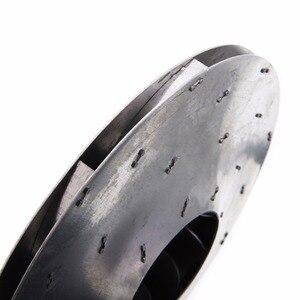 Image 5 - 1pc Vacuum Cleaner Motor Fan Blade 8mm Hole Wind Wheel Impeller Part Aluminum Silver Diameter 112mm Mayitr