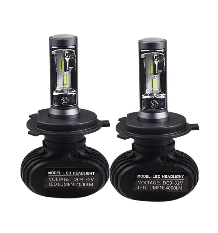 2Pcs H11 H4 H7 Led H1 Auto Car Headlight S1 N1 50W 8000LM 6000K Automobile Bulb All In One CSP Lumileds H4 H7 LED Lamp