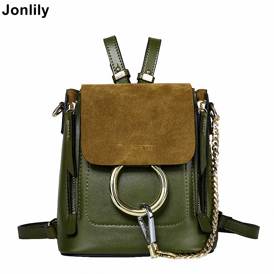 Jonlily Womens Brand Genuin Leather Backpack Fashion Shoulder Bag Travel Bags for Ladies and Girls -KG088Jonlily Womens Brand Genuin Leather Backpack Fashion Shoulder Bag Travel Bags for Ladies and Girls -KG088