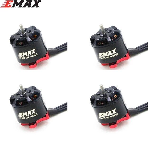 4 takım/grup EMAX RS1106 II 4500KV 6000KV 7500KV MINI fırçasız Motor RC FPV yarış MINI şiddet kapalı Quadcopter