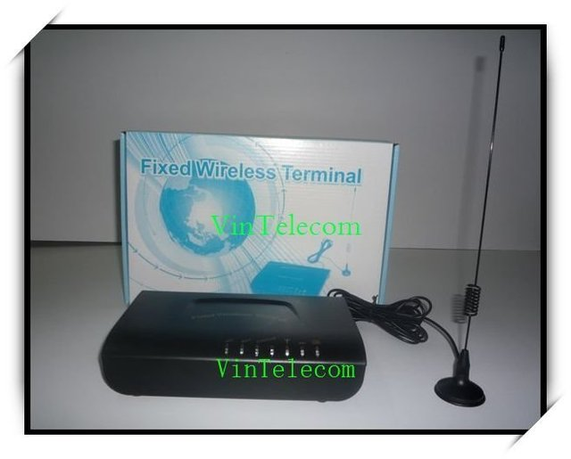 Single SIM Fixed  Wireless Terminal with built-in rechargeable battery - HOT