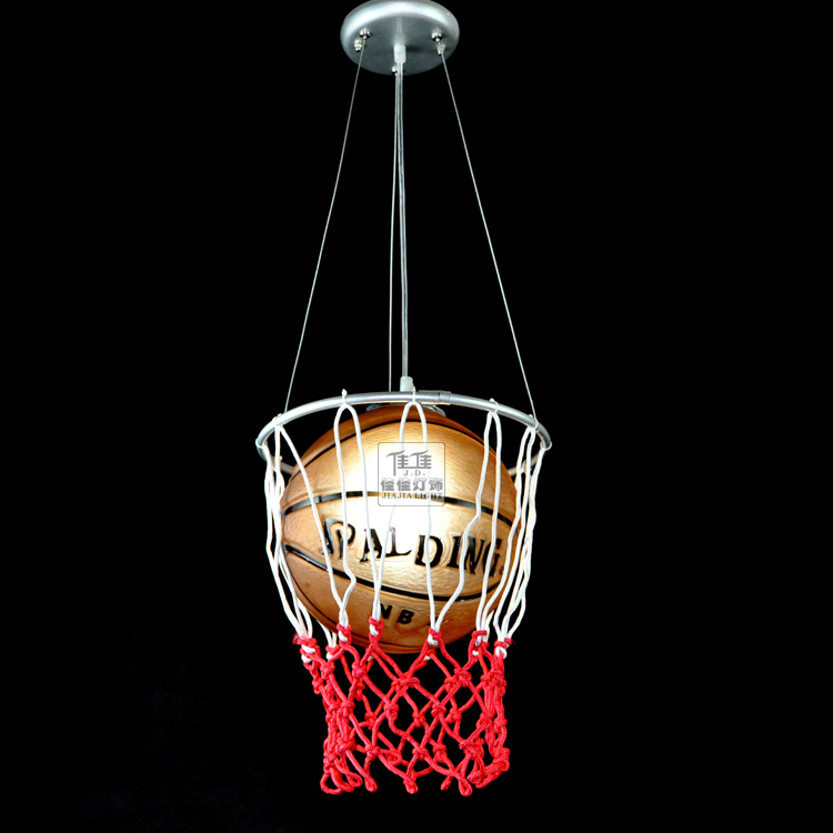 lamparas basketball personalized football cartoon modern child housing lamps boy bedroom pendant lamp dia 30cm free boys bedroom lighting