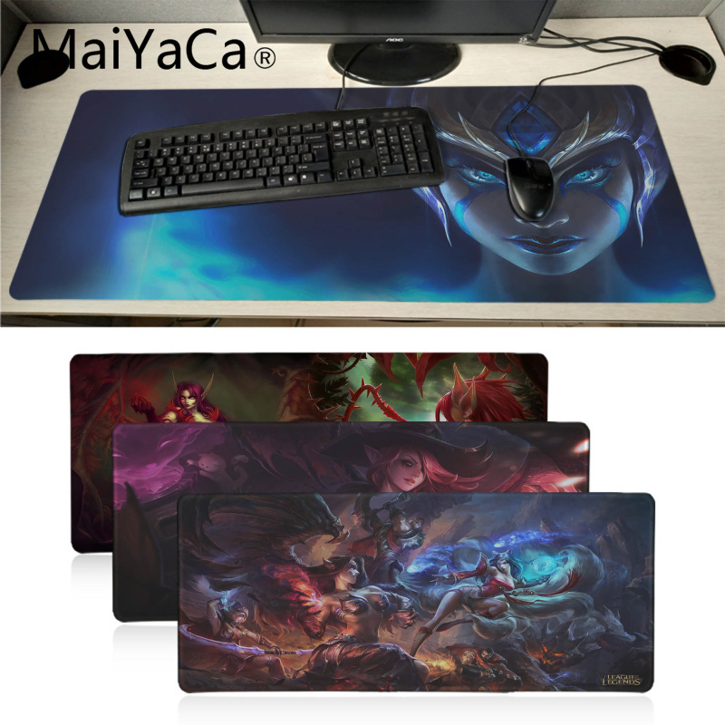 Anime Mousepad Azur Lane Large Mouse Pad Gaming Playmat Keyboard Desk Mat Gift