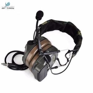 Image 2 - Z טקטי Airsoft Comtac Z054 zComtac ICH אוזניות סגנון טקטי אוזניות OD קסדת רעש ביטול אוזניות