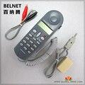 CTT Netcom Telecom línea dedicados comprobar el estudio de línea de línea de la máquina de Verificación telefónica CHINO-E C019 Probador de 110 a juego de pinzas de cocodrilo