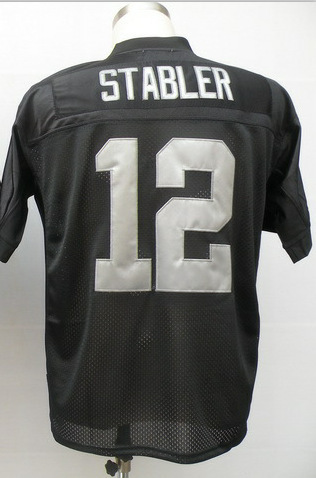 Best price#12 Ken Stabler Jersey,Throwback Football Jersey,Sport Jersey,free shipping