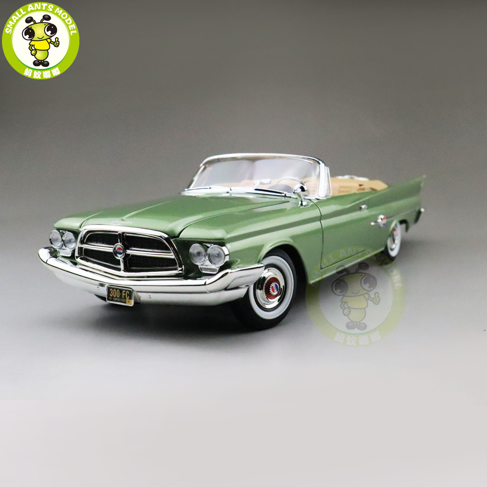 1/18 1960 Chrysler 300F Road Signature Diecast Model Car Toys Boys Girls Gift