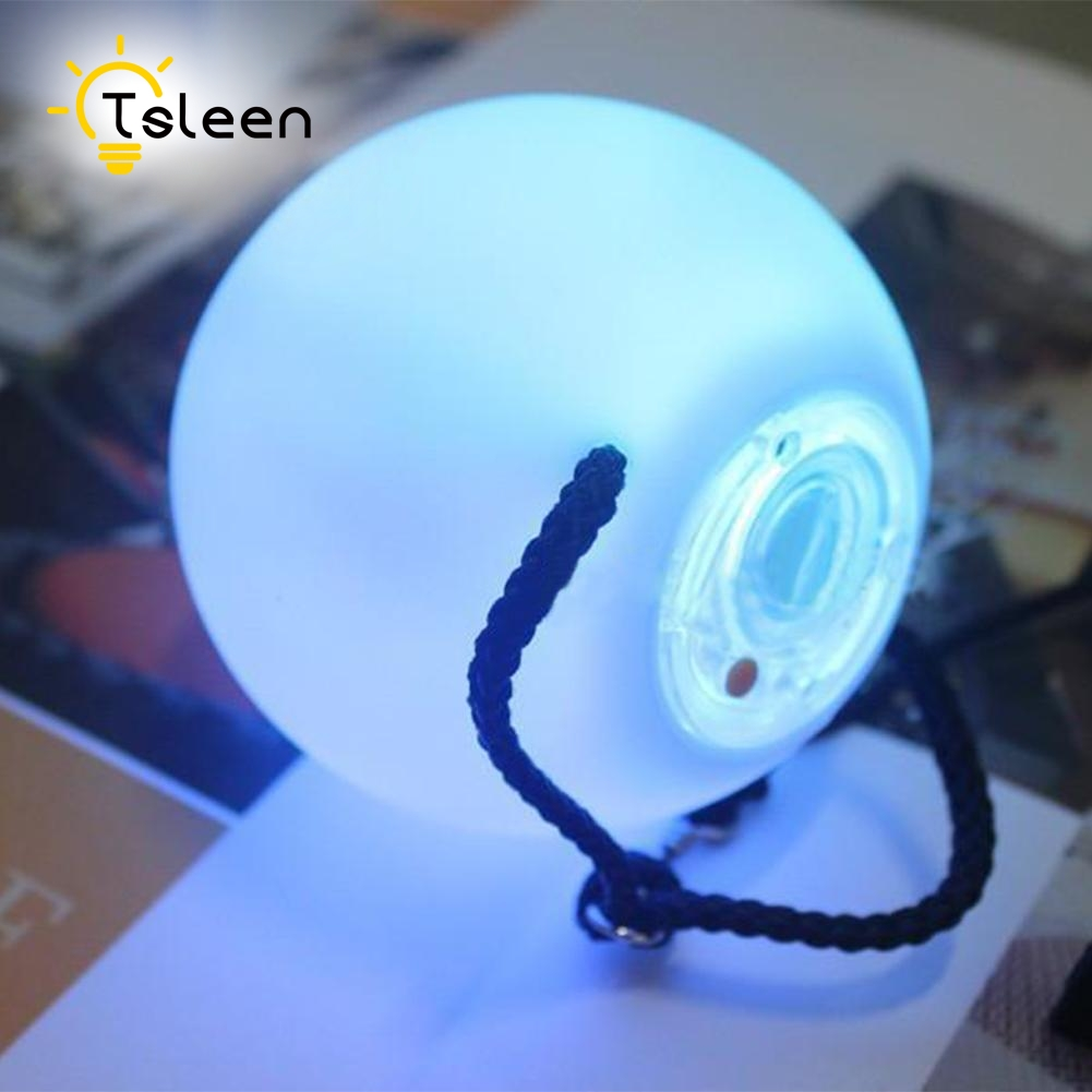 TSLEEN Free Shipping! 1 2 4 PCS LED Poi Balls LED RGB POI Thrown Ball Light Up For Level Hand Prop Stage Performance Accessories 3