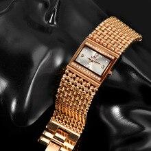 Top De Luxe Strass Bracelet Dames Montre Large Mode Montre En Or Rose Femmes Montres Horloge saat relogio feminino montre femme