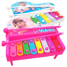 1 Set Children Classic Hand Knock Octave Piano Infant Baby Early Educational Music Instruments Toys Kids Percussion Popular Game