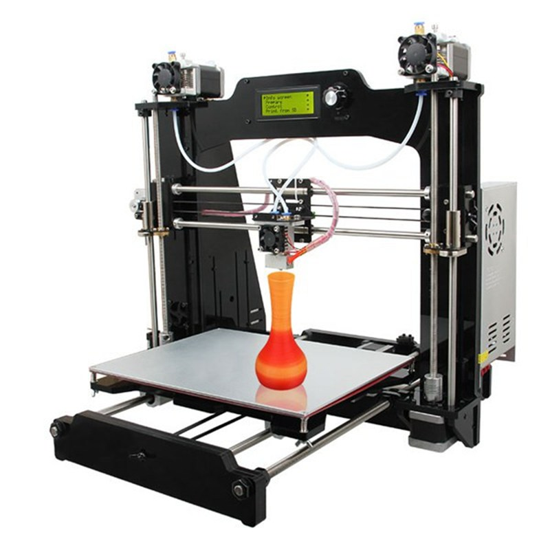 Wholesale Price Geeetech Latest I3 3D Printer DIY Kit M201 2-IN-1-OUT 280 x 210 x 200mm 1.75mm ABS PLA 0.4mm Nozzle best price 5pin cable for outdoor printer