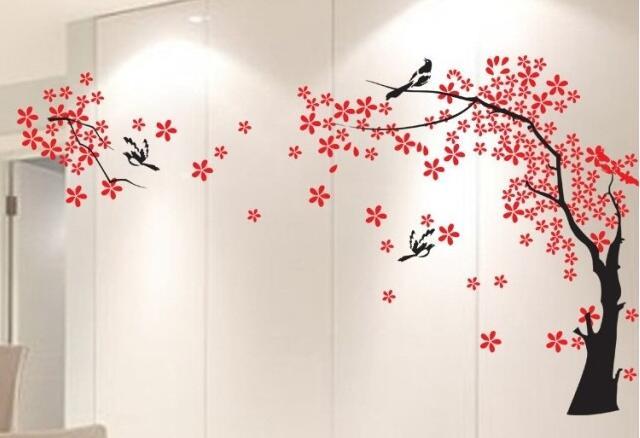 Étoile arbre pie créatif 3D acrylique en trois dimensions cristal TV mur canapé toile de fond décoratif