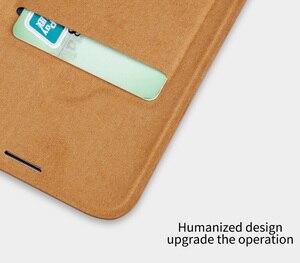 Image 3 - Кожаный чехол книжка Nillkin Qin для Samsung Galaxy S10 Plus S9 Plus Lite