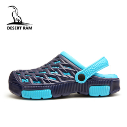 DESERT RAM Brand Duty-Free 6 Colors Garden Croc Shoes Men Band Aqua Sandals Summer Beach Clogs Water Swimming Bedroom Mens Shoe
