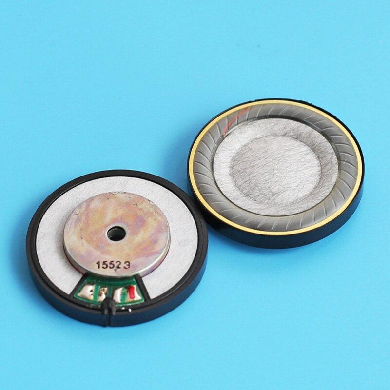 1 par unidade de alto-falante driver diâmetro 40mm 32ohm filme misto peças reparo substituição para fone ouvido