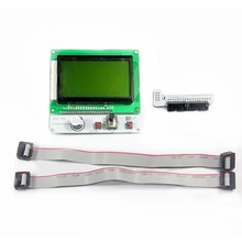 Reprap Square LCD12864 Display Module adapter for Ramps1.4 /Sanguinololu /Megatronics / Rambo 3d printer control board