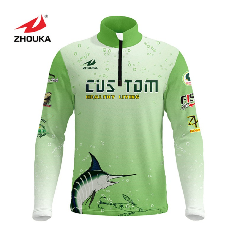 Image 5 - Marshal Customized Men Fishing Jerseys T Shirts Sublimation Printing Name Number Breathable Fishing Shirt Camisa Para Pesca-in Fishing Clothings from Sports & Entertainment