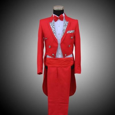 Online Get Cheap Men Black and White Tuxedo Suit Fashion ...