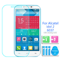 Alcatel One Touch Idol 2 Закаленное Стекло-Экран Протектор 2.5 9 h безопасности Защитную Пленку на Idol2 6037 onetouch 6037 К 6037Y 6037I