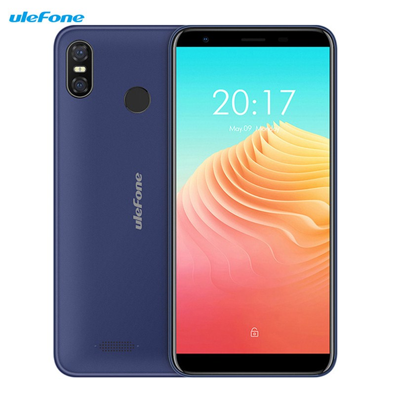 Ulefone S9 Pro 4G Smartphone 5.5'' Android 8.1 MTK6739 Quad Core 2GB 16GB 13.0MP+5.0MP Fingerprint 3300mAh Mobile Cellphones