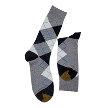 ALYDamei ankle Cotton warm Socks Funny Street Happy Men business socks Casual Plaid Multi-color Long Crew Socks цена