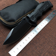 Vellance Utility P99 Folding Knives Glass Nylon Plastic Handle 7Cr13Mov Blade Tactical Camping Knife Pocket Hunting EDC Tools
