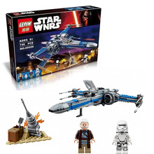 740PCS NEW LEPIN 05029 Star Wars Rebel X-wing fighter KIDS TOY Building blocks assembled Compatible LEGOe toys 75149 Minifigures