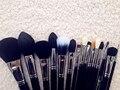 SGM 15 unids premium kits de cepillo del maquillaje con la caja de libro E10 E15 E25 E35 E45 E50 F10 F15 F25 F20 F35 F65 F75 L05 cepillo con el libro caso