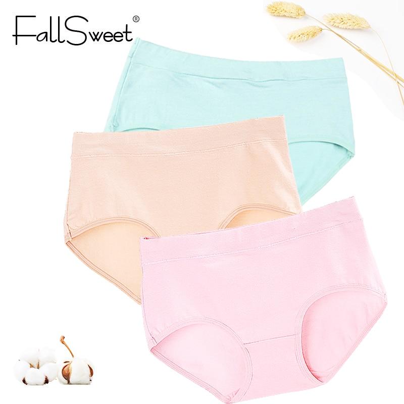 3pcs/lot! Cotton Women   Panties  ,L XL XXL XXXL Middle Waist Comfortable Everyday wear Big Size Briefs,Cotton Intimate Lingerie