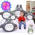 30 / 40 cm Hayao Miyazaki meu vizinho TOTORO boneca travesseiro brinquedo de pelúcia de presente de aniversário para crianças para enviar as meninas