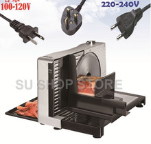 Semi-automatic Meat Slicer Commercial Home Electric Mutton Rolls Meat Grinder Machine цена и фото