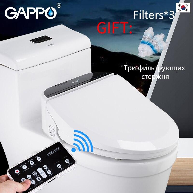 GAPPO Smart abattant wc électrique bidets intelligent toilette chauffant abattant wc Massage soin pour enfant femme le vieux