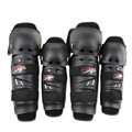 4 pieces/set Outdoor rodilleras Motorcycle kneepad Motocross Protector Racing Knee Elbow Gear adjustable EVA Cushion