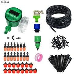 El sistema de riego automático de jardinería herramienta de jardín de sistema de riego de nebulización lcd temporizador automático riego 1 Unidades