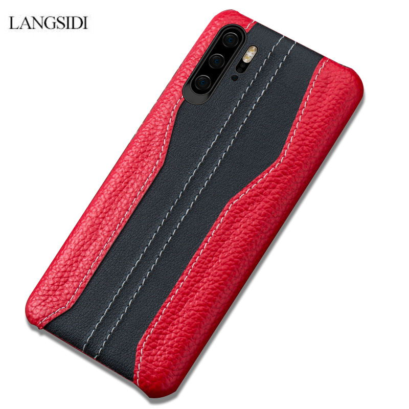 Genuine Leather Phone case For Huawei p20 p30  shockproof Covers for p30 pro coque Leather Cowhide Cases for huawei p30 p20 capaGenuine Leather Phone case For Huawei p20 p30  shockproof Covers for p30 pro coque Leather Cowhide Cases for huawei p30 p20 capa