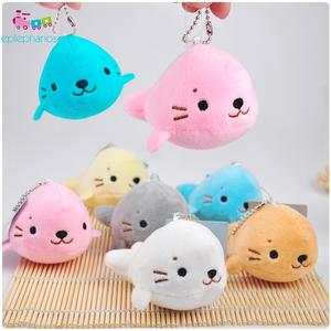 Keychain Pendant-Doll Animals-Toys Christmas-Gifts Plush Stuffed Small Soft Kids Cartoon