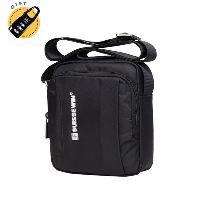 Swiss Messenger Famous Brand Men Shoulder Bag Male Camera Crossbody Bag  Small Messenger Satchel Business Travel c90eef215f
