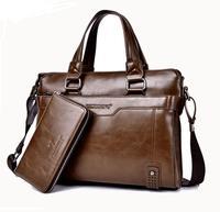 2016 Hot New Luxury Leather Men S Briefcase Leather Business Briefcase Shoulder Bag Men S Messenger