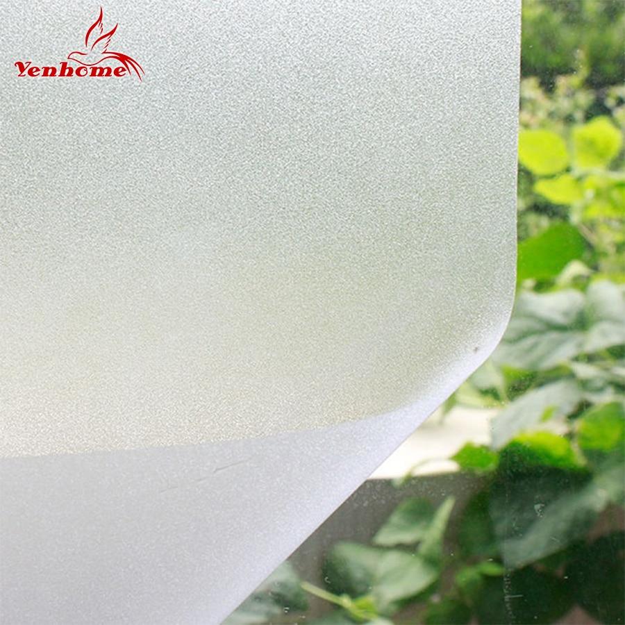 استیکر شیشه ای مات 0.4 3 3 متر وینیل با مات شیشه ای مات و خاموش شیشه ای استیکر شیشه ای دکوراسیون صفحه اصلی تزئینی شیشه حمام شیشه حمام
