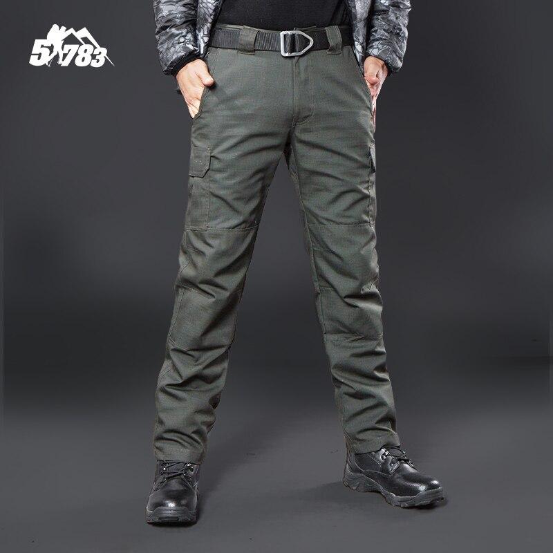 IX9 Militar Tactical Cargo Outdoor Pants Men Combat SWAT Army Training Military Pants Cotton Hunting font