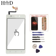 For Blackview A8 Mobile Front Touch Screen Glass Digitizer Panel Lens Sensor Flex Cable Tools Free Adhesive + Screen Protector