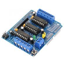 L293D Драйвер шагового двигателя Управление щит Мотор привода Плата расширения для Arduino Duemilanove Mega UNO 4-канальный видеорегистратор