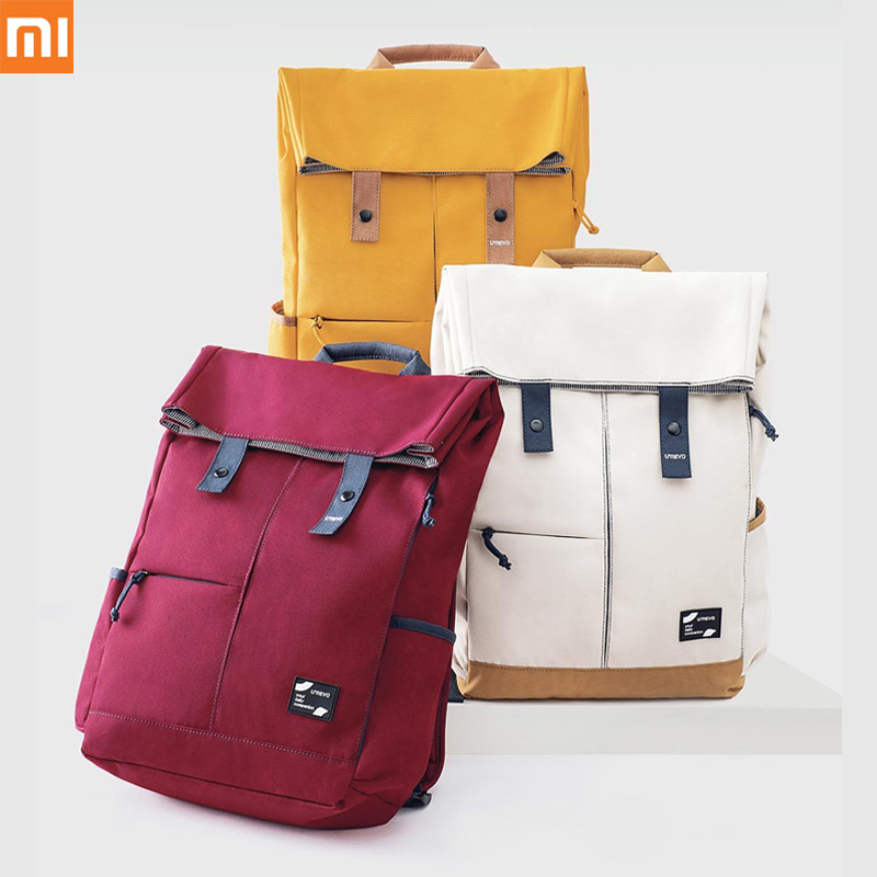 xiaomi UREVO college casual backpack grade 4 waterproof 13L big capacity tough and strong for 15