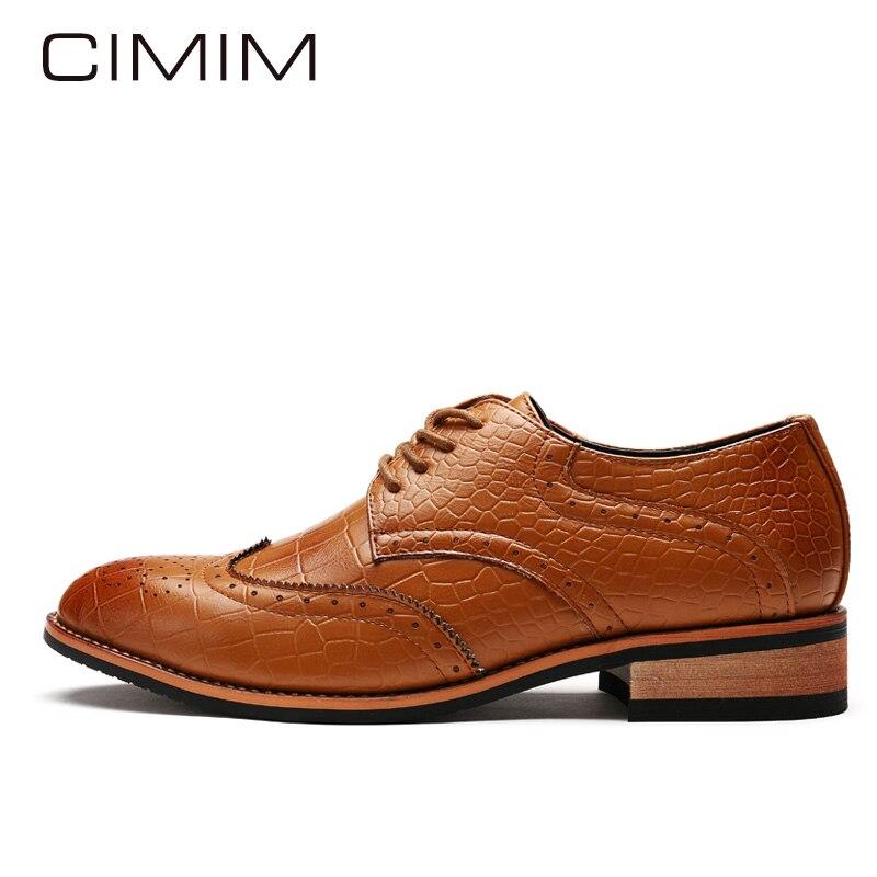CIMIM Brand Men Dress Shoe Luxurious Wedding Mens Patent